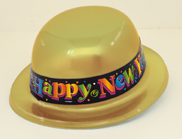 New Year Bowler Hat