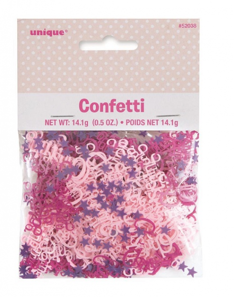 Girls Christening Confetti