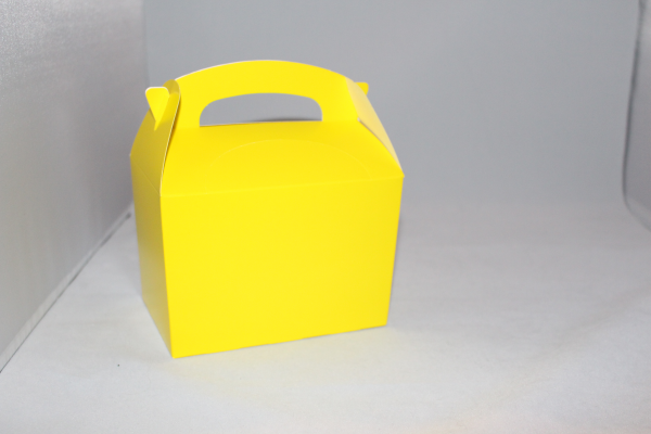 Party Box in Yellow