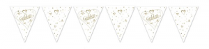 50th Anniversary Flag Paper Bunting